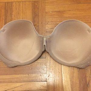 Victoria's Secret Intimates & Sleepwear - Victoria's Secret Nude Strapless Bra